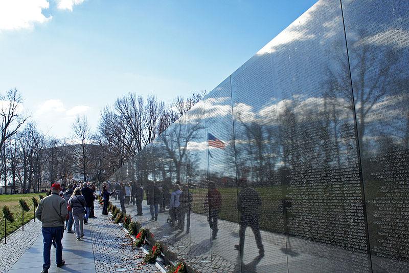 Vietnam Veteran's Memorial in Washington DC, USA (Photo: Wikipedia)