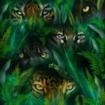 'Jungle Eyes' By Carol Cavalaris