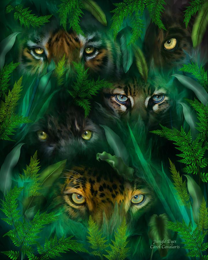 'Jungle Eyes' By Carol Cavalaris